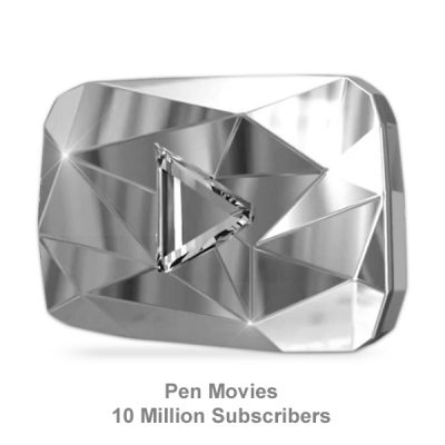Diamond Button from Youtube for Channle Pen Movies